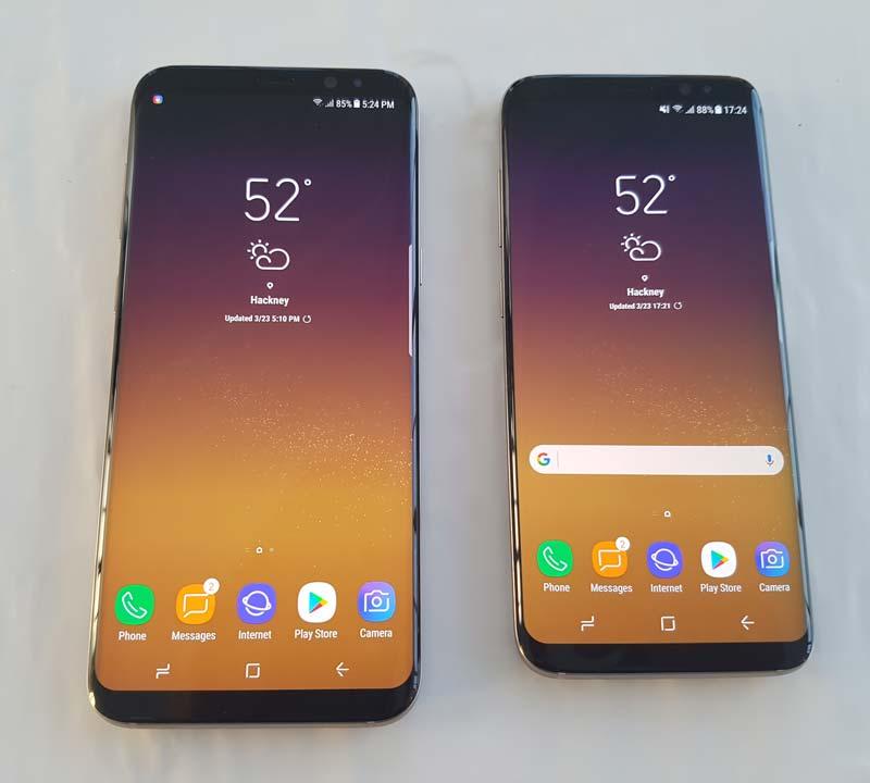 Galaxy S8 y Galaxy S8+