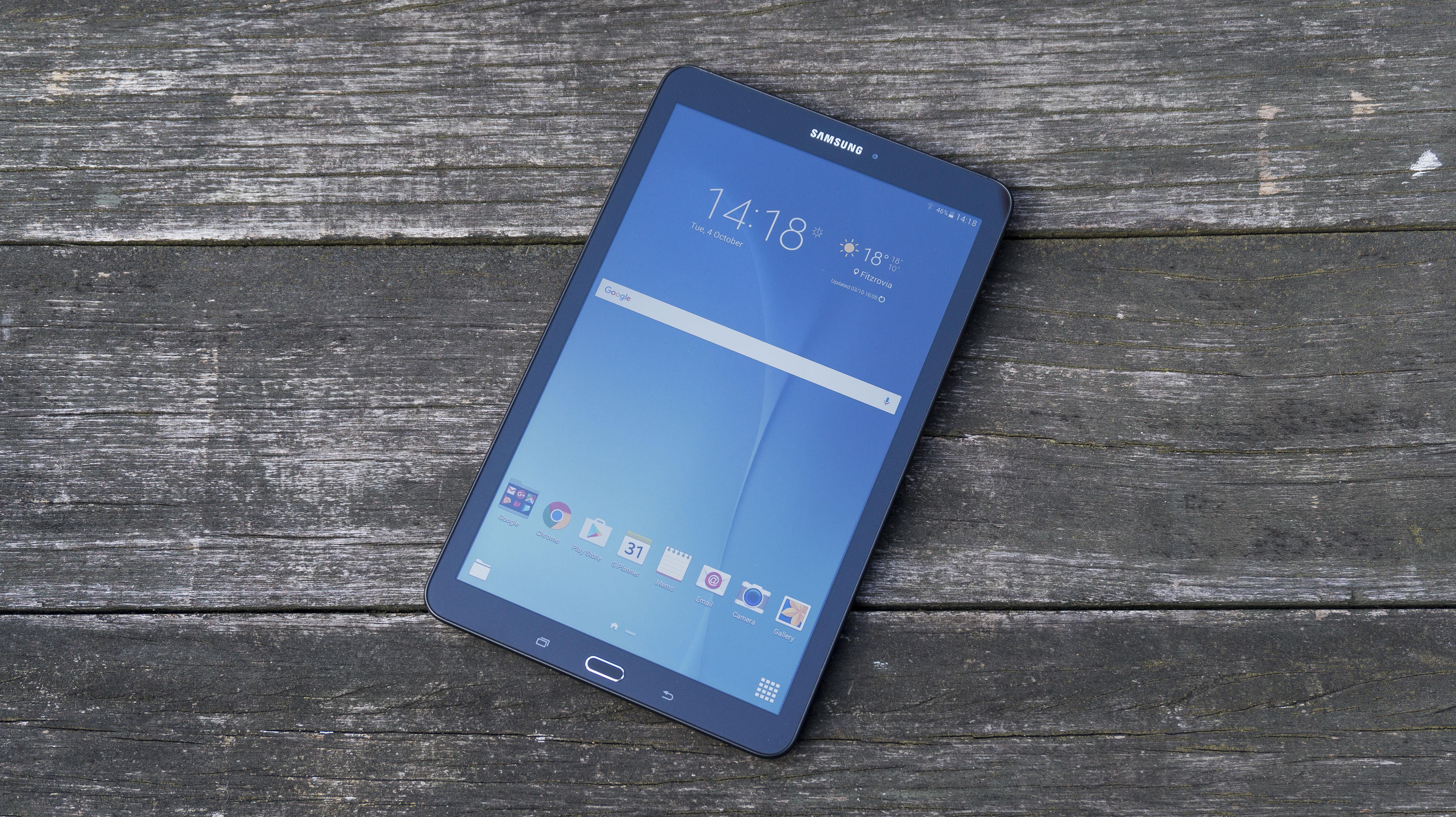 Revisión del Samsung Galaxy Tab E: relativamente barata, pero antigua y desactualizada