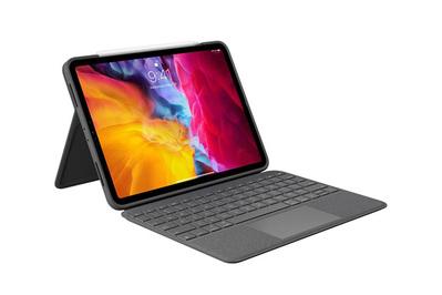 Estuche Logitech Folio Touch con teclado y trackpad para iPad Pro de 11 pulgadas (2.a generación)