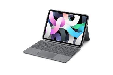 Funda Folio Touch con teclado Logitech para iPad Air (4.a generación)