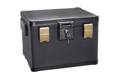 Cofre grande para archivos de agua / fuego Honeywell 1108