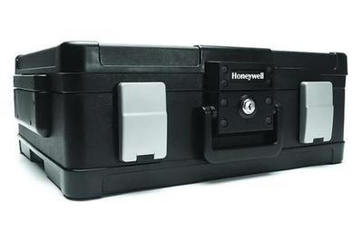 Cofre resistente al agua y al fuego ligero Honeywell 1114